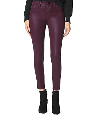 Joe's Jeans THE CHARLIE SKINNY COATED ANKLE JEANS IN SIREN