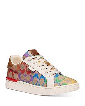 COACH - Women's Lowline Rainbow Low Cut Sneakers