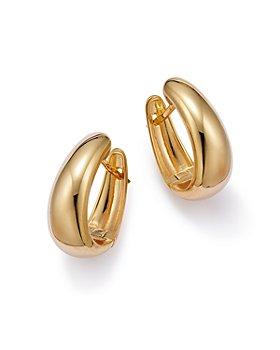 Bloomingdale's - Graduated Small Hoop Earrings in 14K Yellow Gold - 100% Exclusive