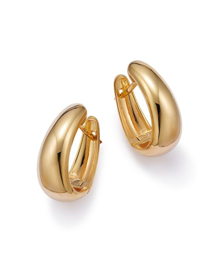 Bloomingdale's Bloomingdale's Graduated Small Hoop Earrings in 14K Yellow Gold - 100% Exclusive  | Bloomingdale's