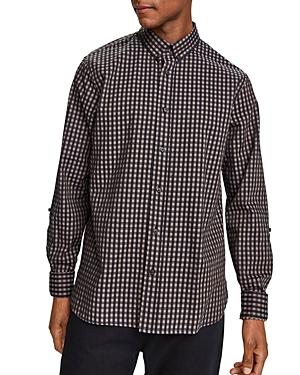 Scotch & Soda Slim Fit Gingham Button-Down Shirt-Men