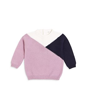 Miles Child - Girls' Color Blocked Cotton Sweater - Little Kid