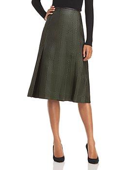 3.1 Phillip Lim - Herringbone A-Line Skirt