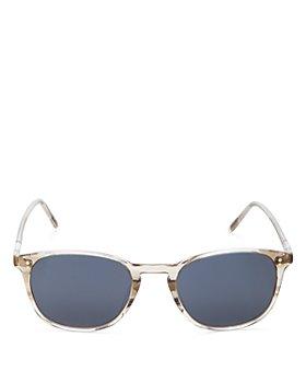 Oliver Peoples - Unisex Finley Vintage Square Sunglasses, 49mm