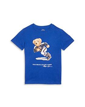 Ralph Lauren - Boys' Rugby Bear Tee - Little Kid, Big Kid