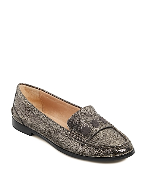 Jack Rogers WOMEN'S REMY LEATHER LOAFERS