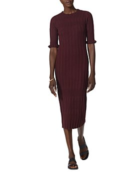 Joie - Ribbed Midi Dress