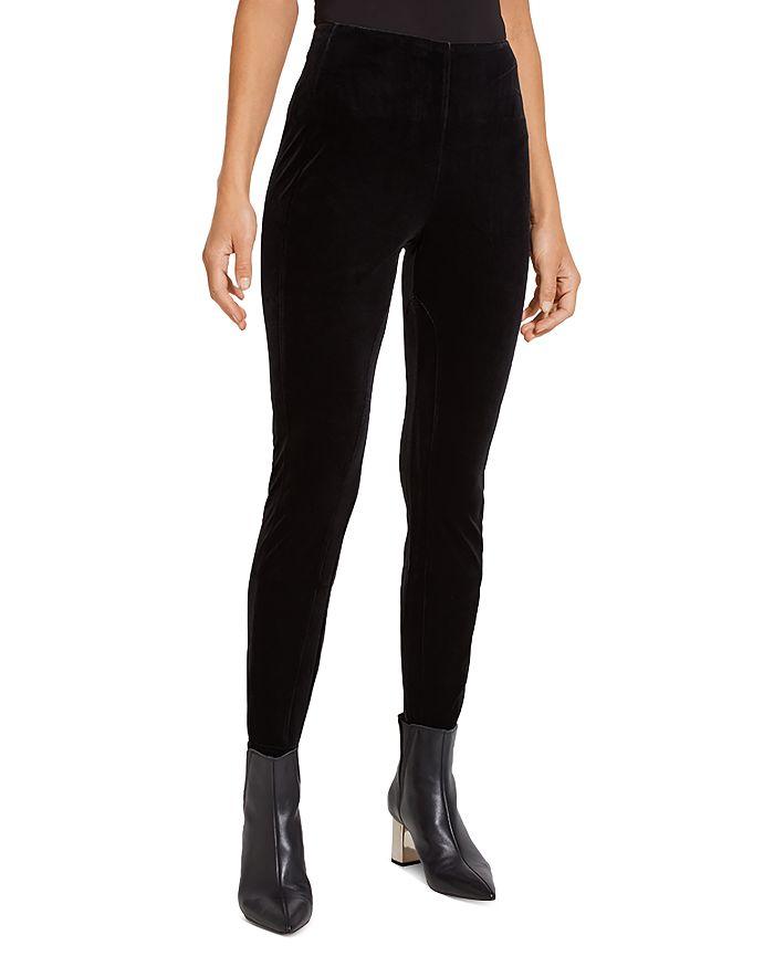 Lyssé Mara Velvet Leggings In Black