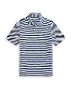 Vineyard Vines - Boys' Striped Performance Polo - Little Kid, Big Kid