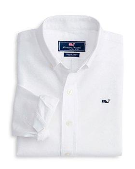 Vineyard Vines - Boys' Cotton Oxford Whale Shirt - Little Kid, Big Kid