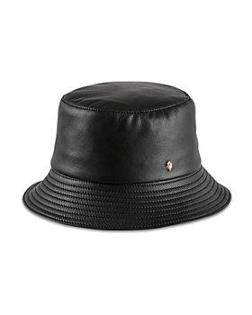 Helen Kaminski - Orianna Leather Bucket Hat