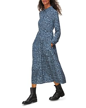 Whistles Eucalyptus Print Dress-Women