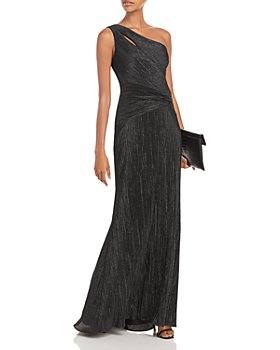 AQUA - One Shoulder Glitter Gown - 100% Exclusive