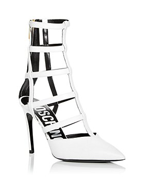 Moschino - Women's Gladiator Pointed Toe Pumps