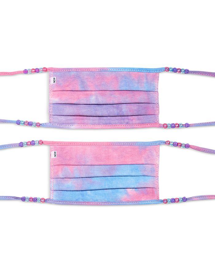 Stoney Clover Lane - Tie Dye Face Masks, Set of 2