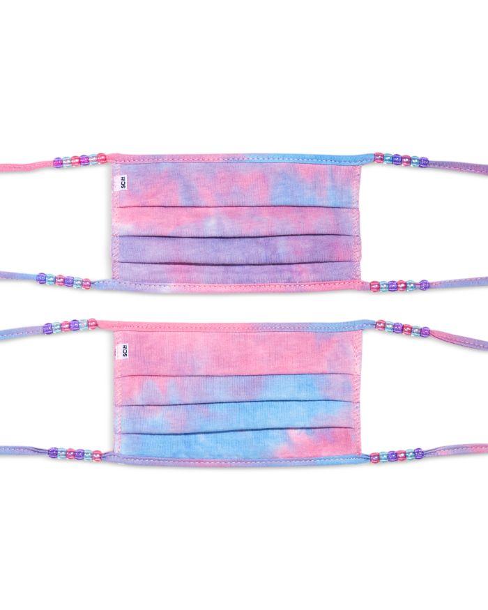 Stoney Clover Lane Tie Dye Face Masks, Set of 2    Bloomingdale's