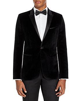 HUGO - Astiane Velvet Slim Fit Tuxedo Jacket