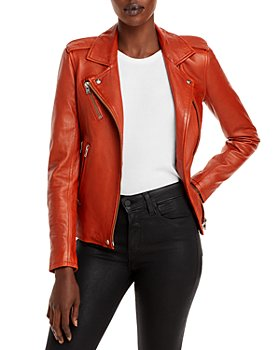 IRO - Newhan Leather Moto Jacket