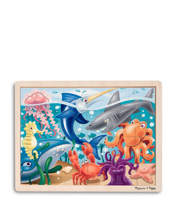 Melissa & Doug Under the Sea Jigsaw Puzzle - Ages 3+  | Bloomingdale's