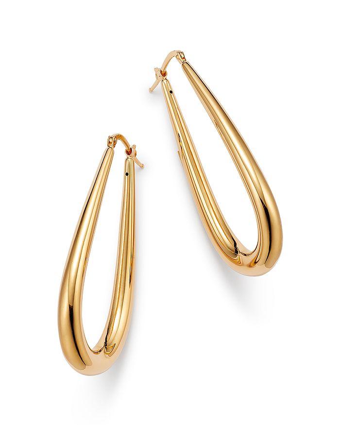 Alberto Amati 14k Yellow Gold Tube Hoop Earrings - 100% Exclusive