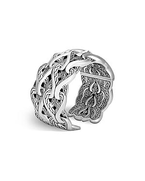 John Hardy Sterling Silver Classic Chain Cuff Bracelet-Jewelry & Accessories