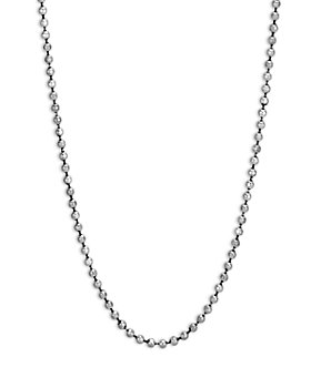 JOHN HARDY - Men's Sterling Silver Classic Ball Chain Necklace