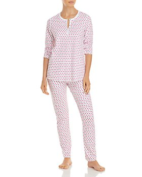 Roller Rabbit - Cotton Hearts Print Pajamas Set