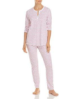 Roller Rabbit - Cotton Hearts Print Pajamas Set