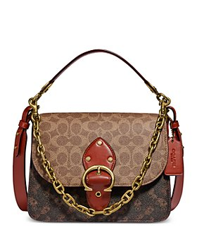 COACH - Beat Leather Shoulder Bag