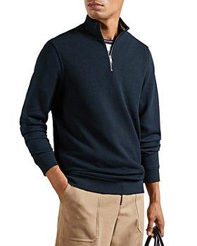 Ted Baker - Funnel Quarter Zip Sweater