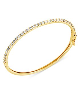 Bloomingdale's - Diamond Bangle Bracelet in 14K Yellow Gold, 1.0 ct. t.w. - 100% Exclusive