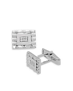 Bloomingdale's - Diamond Cufflinks in 14K White Gold - 100% Exclusive