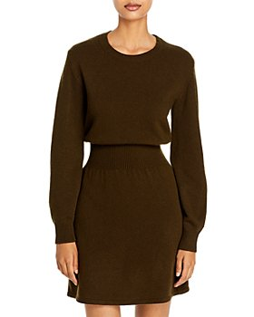 Theory - Wool & Cashmere Sweater Dress