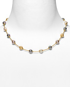 """Majorica Illusion Simulated Pearl Necklace, 17"""" - Bloomingdale's_0"""