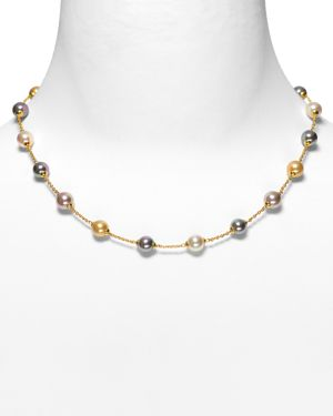 Majorica Illusion Simulated Pearl Necklace, 17