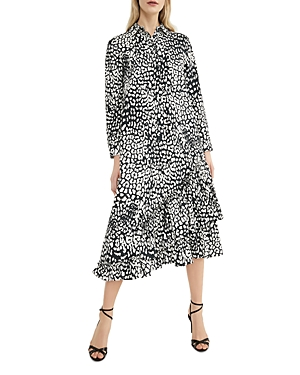 Max Mara Lipari Printed Shirt Dress-Women