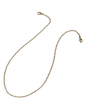 AQUA - Oval Link Face Mask Chain in Gold Tone - 100% Exclusive
