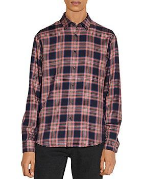 Sandro - Tartan Checked Shirt