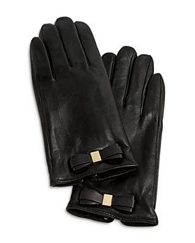 Ted Baker - Bow Detail Leather Gloves