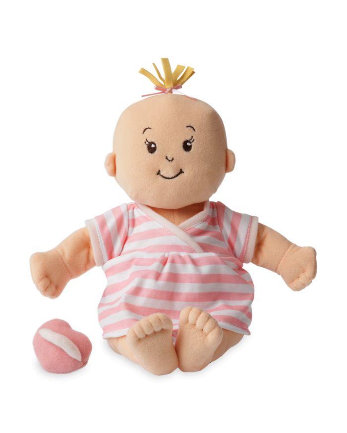 Manhattan Toy Baby Stella Peach Soft Nurturing First Baby Doll - Ages 12 Months+  | Bloomingdale's