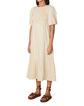 Faithfull the Brand - Alberte Linen Midi Dress