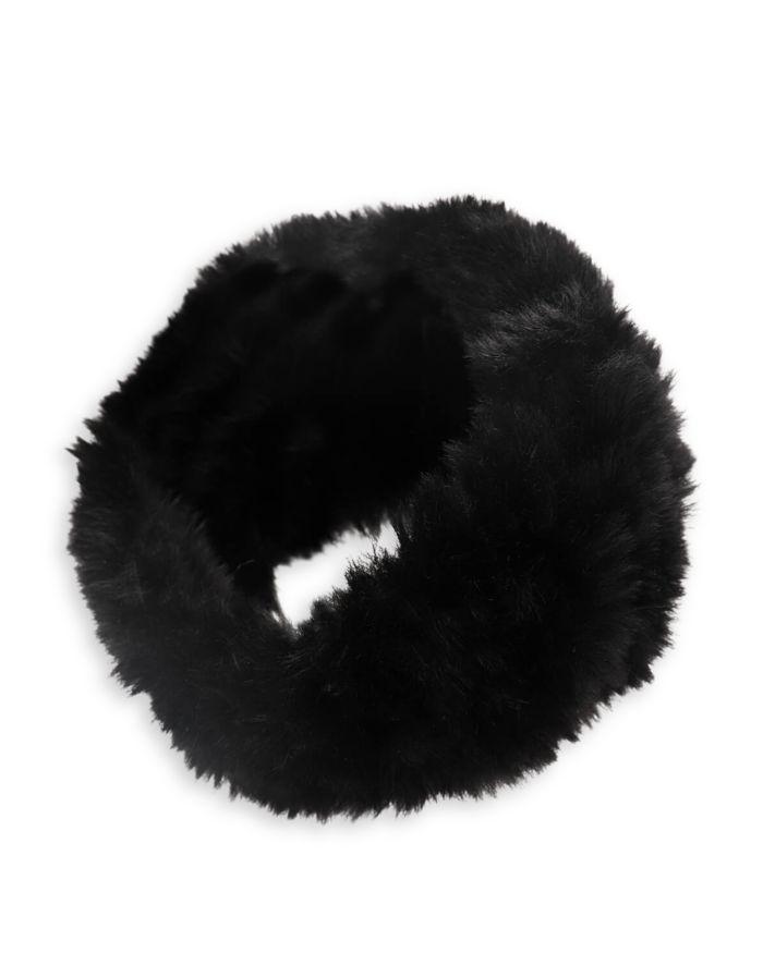 Surell Girls' Faux Fur Headband     Bloomingdale's