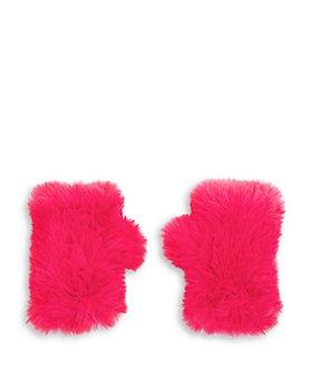 Surell - Girls' Faux Fur Fingerless Mittens