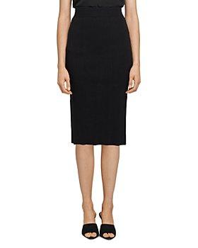 L'AGENCE - Jessica Knit Pencil Skirt