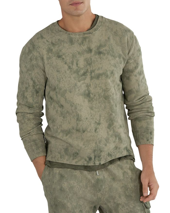 ATM Anthony Thomas Melillo - Cotton French Terry Abstract Camo Slim Fit Sweatshirt