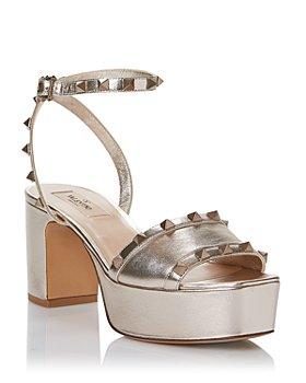 Valentino Garavani - Women's Square Toe Rockstud Platform Sandals