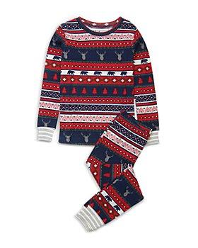 Hatley - Girls' Fair Isle Stags Pajama Set - Little Kid, Big Kid