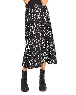 ba & sh Tomy Printed Midi Skirt-Women