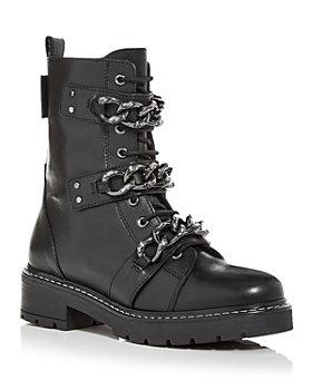 KURT GEIGER LONDON - Women's Storm Combat Boots