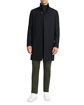 Theory - Belvin Regular Fit Traceable Wool Blend Coat